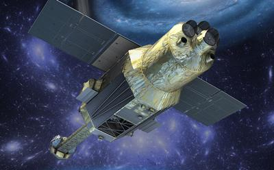 Picture of the Hitomi satellite