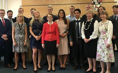 Law prize winners