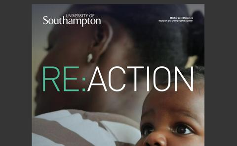 University of Southampton Re:action