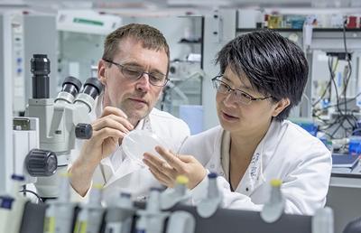 Prof Morgan & Prof Cheong