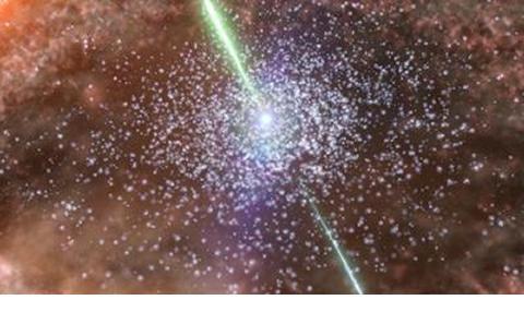 """Broad Line Region"" in a quasar"