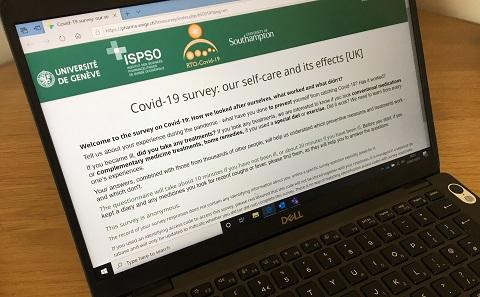 Survey on computer screen