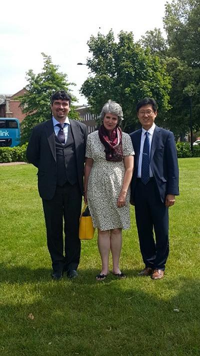 Professor Kim visit