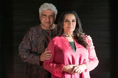 Javed Akhtar and Shabana Azmi
