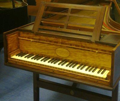 Broadwood grand piano built in 1796