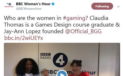 The BBC Tweet