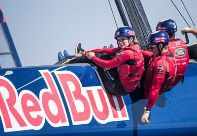 Red Bull yacht