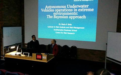 Lecture at AMC, Tasmania