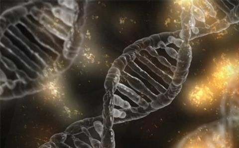 DNA 3d generated image