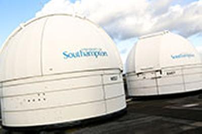 The University's roof telescopes