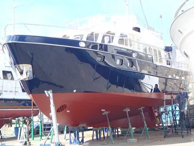 steel yacht