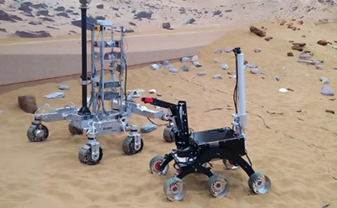 Mars vehicles