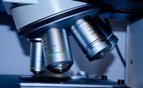 Image of microscope