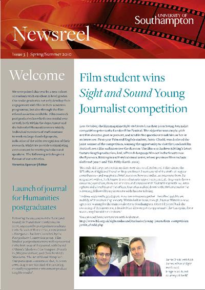 Film newsletter