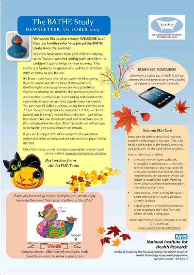 Parents Autumn Newsletter 2015