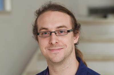 Postgraduate researcher Matthew Pot