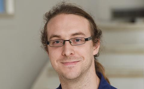 Postgraduate researcher Matthew Pot