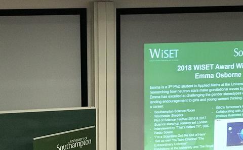 WiSET Award Ceremony 2018