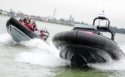 Photo of driverless boat in Solent