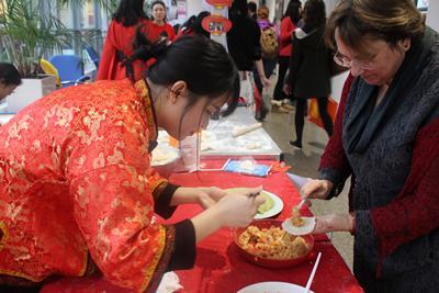Chinese New Year at Humanity