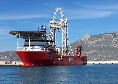 Drilling vessel exploring