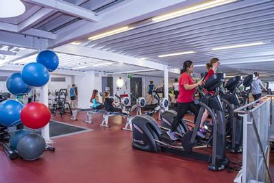 Gym changing facility improvements sport and wellbeing