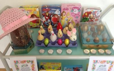 Easter sale stand