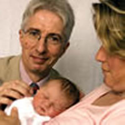 Newborn baby hearing test