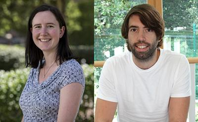 Dr Christina Vanderwel and Dr Matt