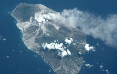 Montserrat Soufriere volcano