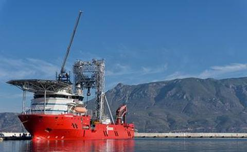 The Fugro Synergy, Central Greece