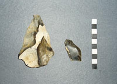 Neanderthal flints