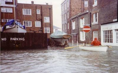 Old Portsmouth Flooding