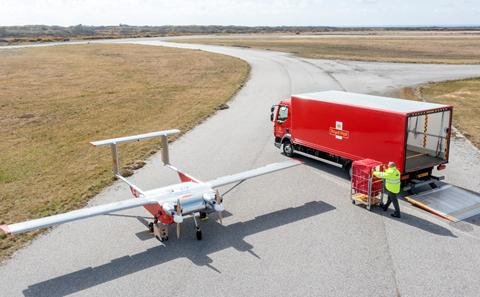 Royal Mail drone flights