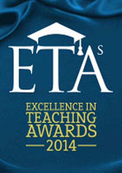 Excellence in Teaching Awards 2014