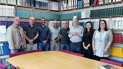 Delegates in the IML Reading Room