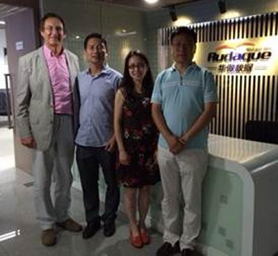 Image of Xibei Jia and team
