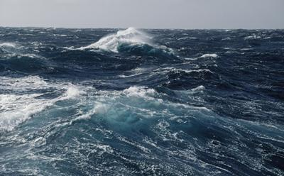 Picture of stormy sea