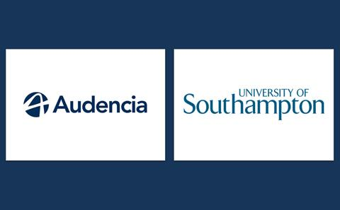 Audencia and UoS logo