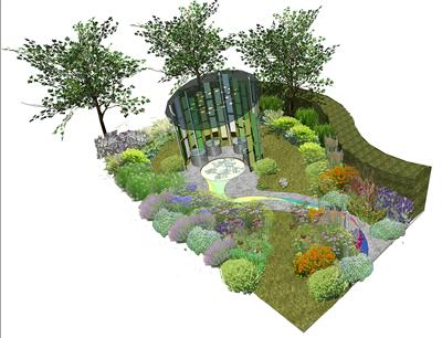 Elegant The University Of Southampton Has Joined With Elks Smith Landscape U0026 Garden  Design To Create A Spectacular U0027Garden Of Lightu0027 For The RHS Tatton Flower  Show ...
