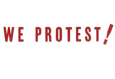 We Protest Image
