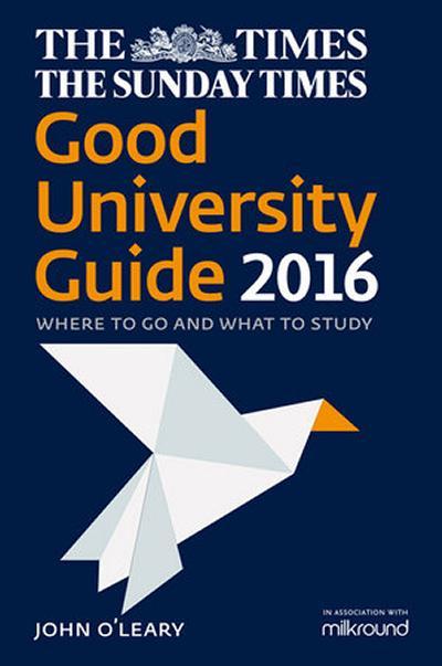 Good University Guide 2016