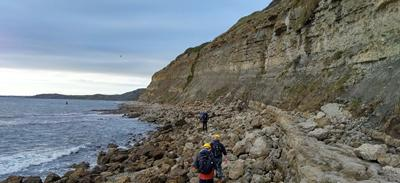 Geological features - English coast