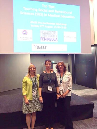 Dr Kathy Kendall and colleagues