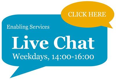 Live Chat, Weekdays, 14:00-16:00