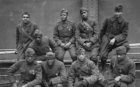 WW1 African-American soldiers