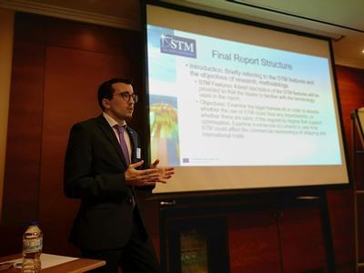 Spiros Papadas presenting