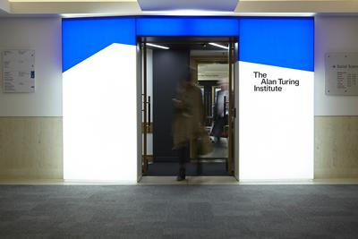 Alan Turing Institute entrance