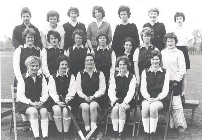 Ladies hockey team, 1961