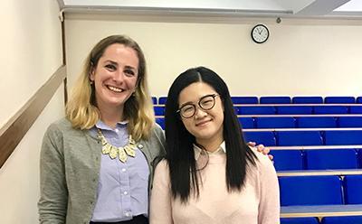 Dr Eleonora Rosati & Michelle Tong